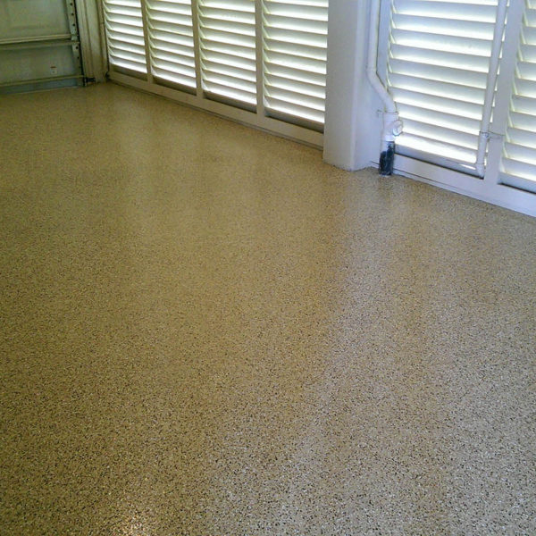 Garage Flake Floor