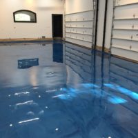 Blue Metallic Epoxy